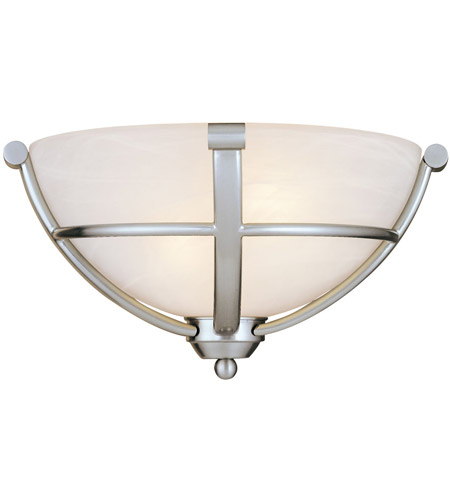 brushed p home lavery wall minka depot poleis the sconce nickel light sconces
