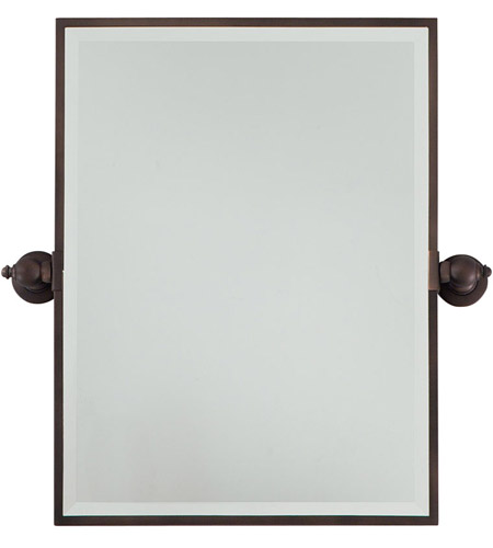 Minka-Lavery Signature Mirror in Dark Brushed Bronze 1440-267 photo