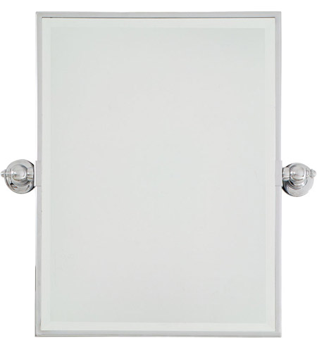 Minka-Lavery 1440-77 Signature 24 X 18 inch Chrome Mirror Home Decor, Rectangle, Beveled photo