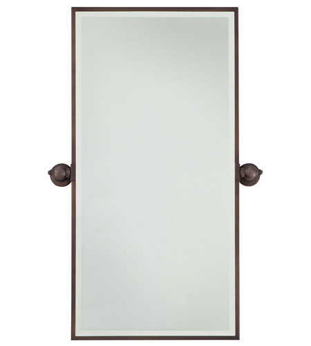 Minka-Lavery 1442-267 Signature 36 X 18 inch Dark Brushed Bronze Mirror Home Decor photo