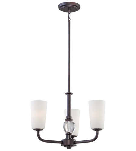 Minka-Lavery Modern Continental 3 Light Mini Pendant in Kinston Bronze 1613-298 photo
