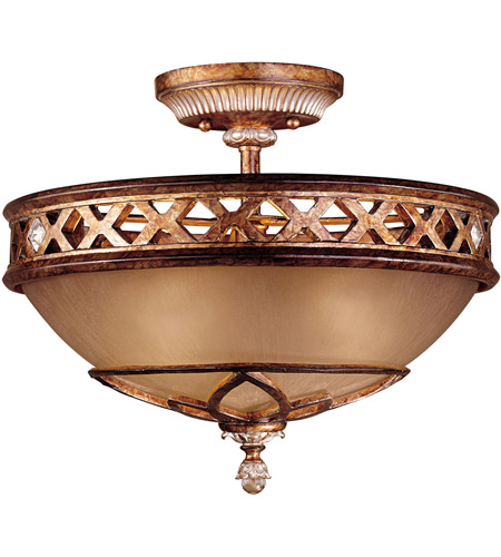 Minka-Lavery 1757-206 Aston Court 3 Light 16 inch Aston Court Bronze Semi Flush Mount Ceiling Light photo
