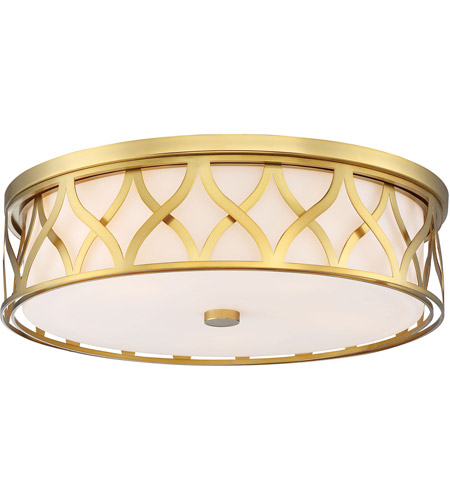 Minka-Lavery 1840-249 Signature 5 Light 20 inch Liberty Gold Flush Mount Ceiling Light photo thumbnail