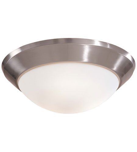Minka-Lavery 2220-84 Contractor Series 1 Light 10 inch Brushed Nickel Flushmount Ceiling Light photo