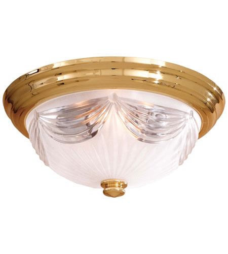 Minka-Lavery 2225-22 Contractor Series 3 Light 15 inch Flushmount Ceiling Light photo