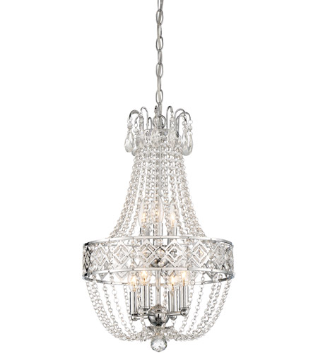 Minka lavery 3159 77 signature 7 light 14 inch chrome mini minka lavery 3159 77 signature 7 light 14 inch chrome mini chandelier ceiling light aloadofball Images