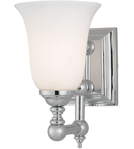 Minka-Lavery 3221-77 Tafalla 1 Light 6 inch Chrome Bath Bar Wall Light photo