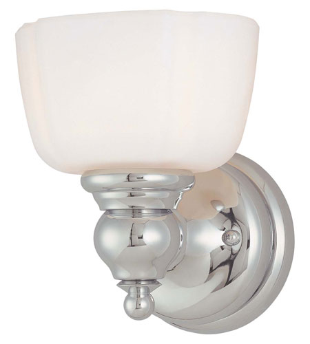Minka-Lavery River Belle 1 Light Bath in Chrome 3231-77 photo