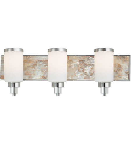 Minka-Lavery 3243-77 Cashelmara 3 Light 26 inch Chrome Bath Bar Wall Light photo