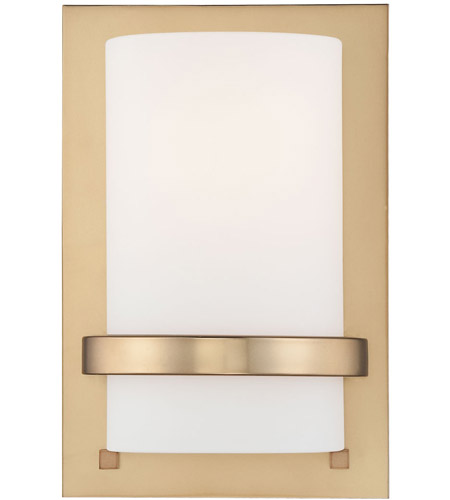 Minka-Lavery Signature 1 Light Sconce in Honey Gold 342-248 photo