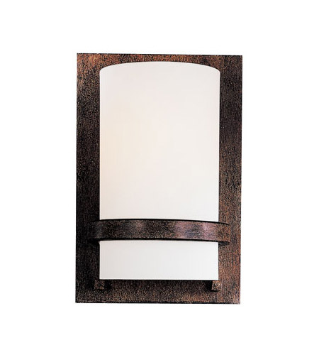 Minka-Lavery Signature 1 Light Sconce in Iron Oxide 342-357-PL photo