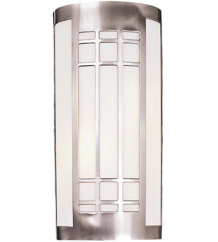 Minka-Lavery 347-84-PL Signature 2 Light 8 inch Brushed Nickel ADA Sconce Wall Light photo