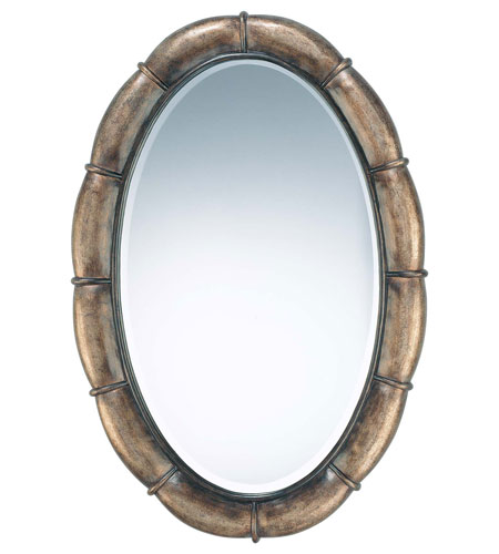 Minka-Lavery La Cecilia Mirror in Patina Iron 4140-0-573 photo