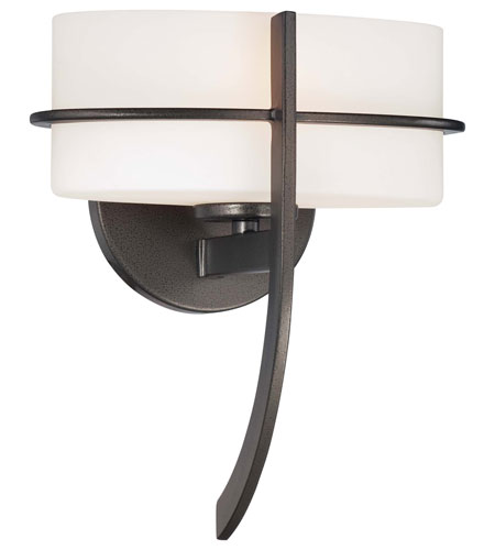 Minka-Lavery Fieldale Lodge 1 Light Sconce in Smoked Iron 4151-172 photo