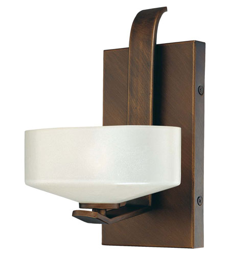 Minka-Lavery 4221-296 Eclante 1 Light 7 inch Eclante Patina Bronze Bath Wall Light photo