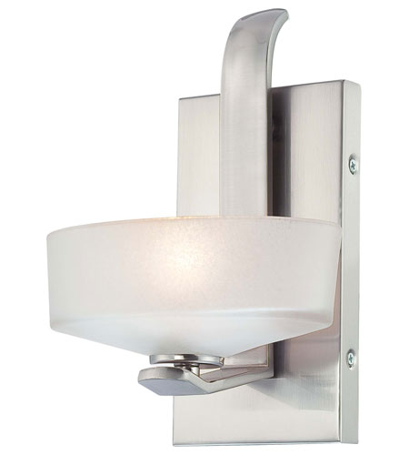 Minka-Lavery Eclante 1 Light Bath in Brushed Nickel 4221-84 photo