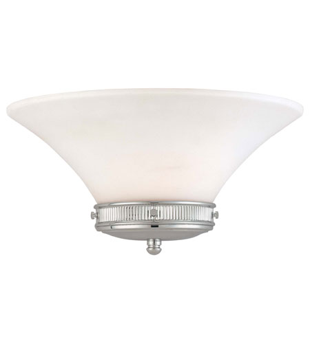 Minka-Lavery 4280-77 Federal Restoration 1 Light 16 inch Chrome Sconce Wall Light photo