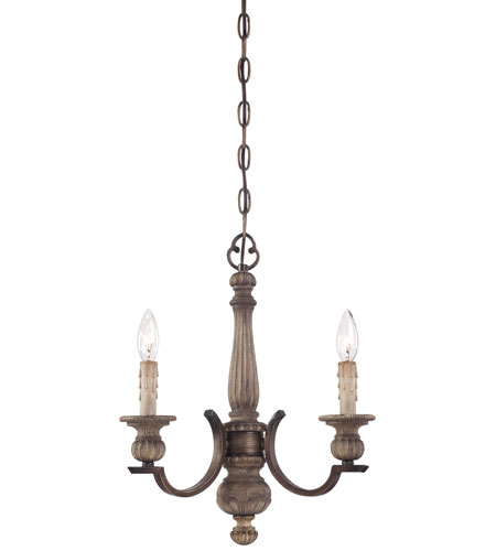 Minka-Lavery Regents Row 3 Light Mini Chandelier in Regents Patina 4313-299 photo