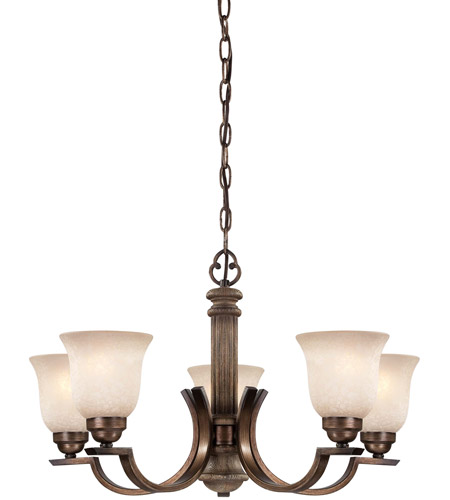 Minka-Lavery Regents Row 5 Light Chandelier in Regents Patina 4315-299 photo