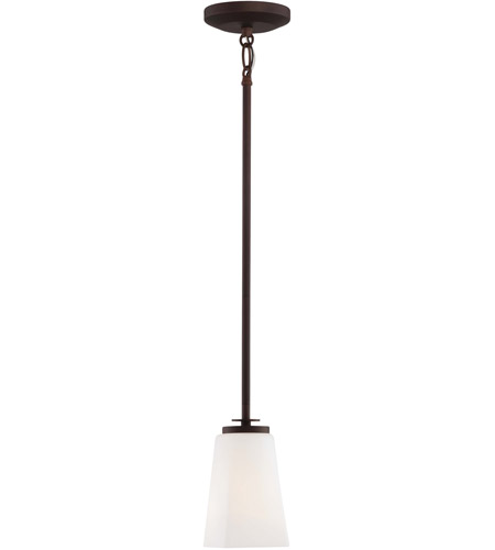 Minka-Lavery 4321-577 Zacara 1 Light 4 inch Artistic Bronze Mini Pendant Ceiling Light photo