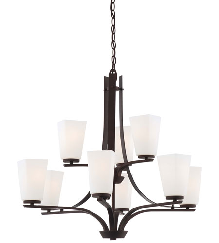 Minka-Lavery 4329-577 Zacara 9 Light 31 inch Artistic Bronze Chandelier Ceiling Light photo