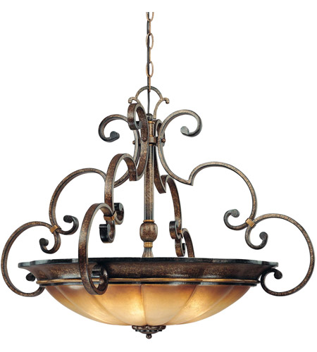 Minka-Lavery 4334-561 Brompton 4 Light 33 inch Pendant Ceiling Light photo