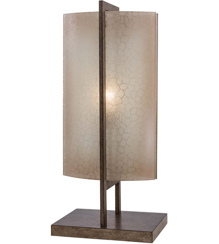 Minka-Lavery Clarte 1 Light Table Lamp in Patina Iron 4390-1-573 photo