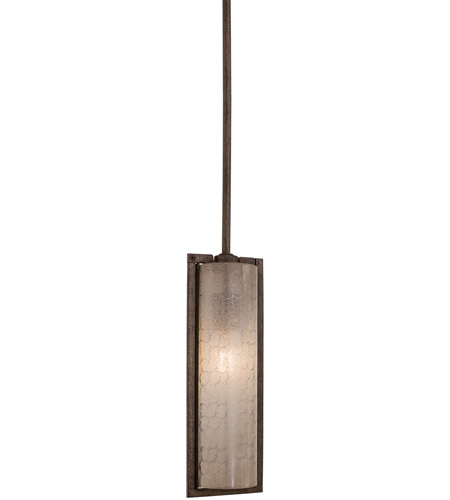 Minka-Lavery Clarte 1 Light Mini Pendant in Patina Iron 4391-573 photo