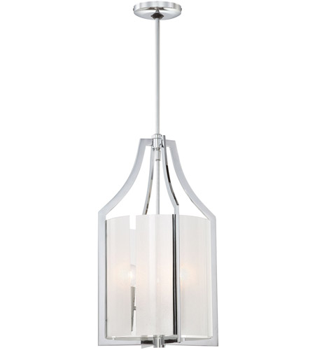 Minka-Lavery 4392-77 Clarte 3 Light 12 inch Chrome Pendant Ceiling Light photo