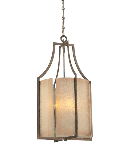 Minka-Lavery Clarte 4 Light Pendant in Patina Iron 4394-573 photo
