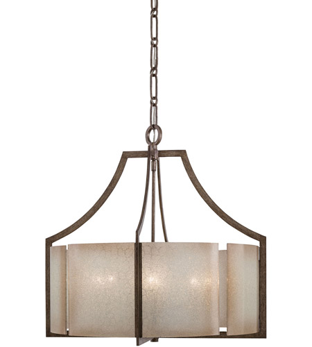 Minka-Lavery Clarte 6 Light Chandelier in Patina Iron 4396-573 photo