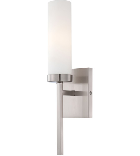 Minka-Lavery 4460-84 Signature 1 Light 4 inch Brushed Nickel ADA Wall Sconce Wall Light photo