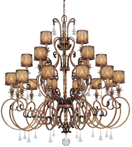 Minka-Lavery Aston Court 21 Light Chandelier in Aston Court Bronze 4759-206 photo