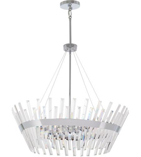 Minka Lavery 4818 77 Echo Radiance 10 Light 29 Inch Chrome Chandelier Ceiling