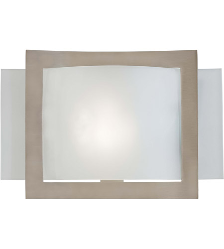 Minka-Lavery Signature 1 Light Sconce in Brushed Nickel 505-84-PL photo