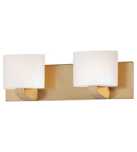 Minka-Lavery Modern Craftsman 2 Light Bath in Honey Gold 5242-248 photo