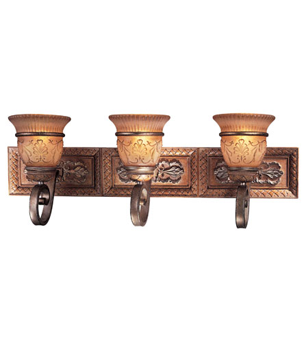 Minka Lavery Treville 3 Light Bath Fixture In Tuscan Patina 5363 196c