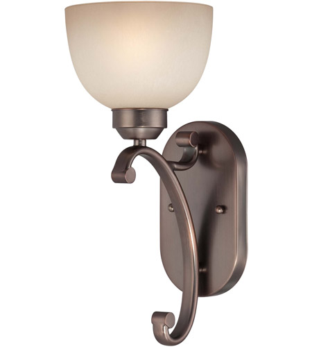 Minka-Lavery 5420-281 Paradox 1 Light 6 inch Harvard Court Bronze Plated Wall Sconce Wall Light photo
