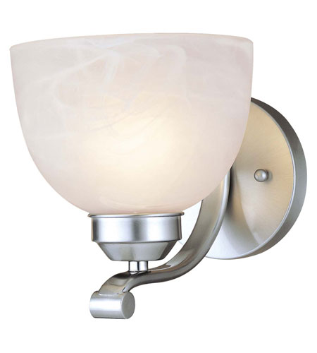 Minka-Lavery Paradox 1 Light Sconce in Brushed Nickel 5421-84-PL photo