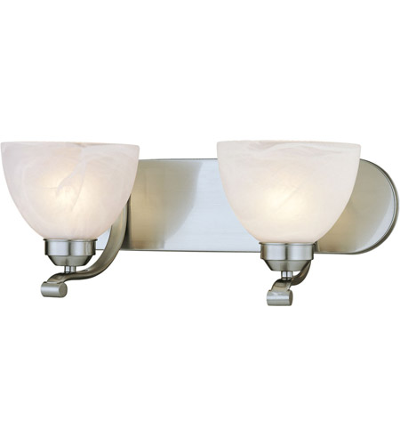 Minka-Lavery Paradox 2 Light Bath in Brushed Nickel 5422-84 photo