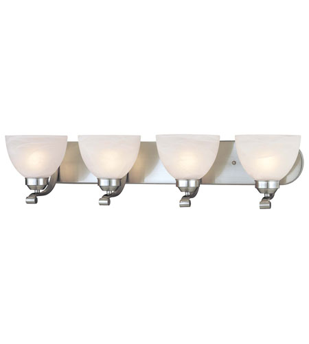 Minka-Lavery Paradox 4 Light Bath in Brushed Nickel 5424-84-PL photo