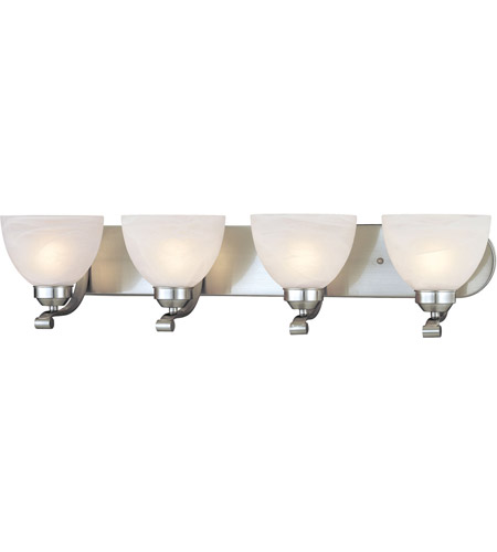 Minka-Lavery 5424-84 Paradox 4 Light 30 inch Brushed Nickel Bath Bar Wall Light photo
