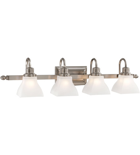 Minka-Lavery 5584-84 Mission Ridge 4 Light 34 inch Brushed Nickel Bath Wall Light photo