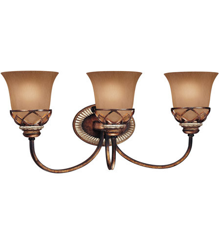 Minka-Lavery 5743-206 Aston Court 3 Light 23 inch Aston Court Bronze Bath Bar Wall Light photo