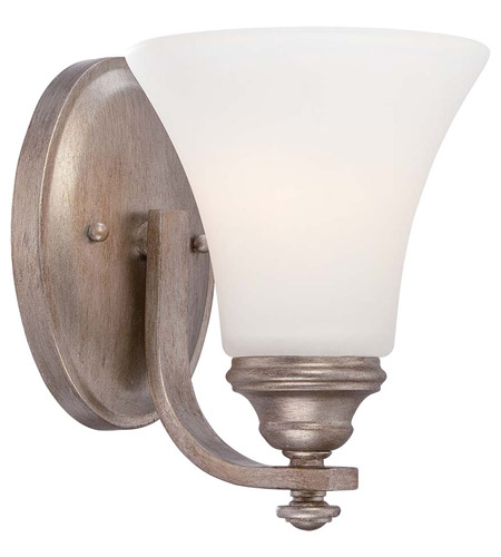 Minka lavery wellington ave 1 light bath vanity light in for Gold bathroom wall lights