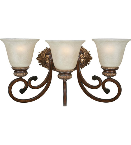 Minka Lavery 5943 126 Belcaro 3 Light 20 Inch Walnut Bath Bar Wall