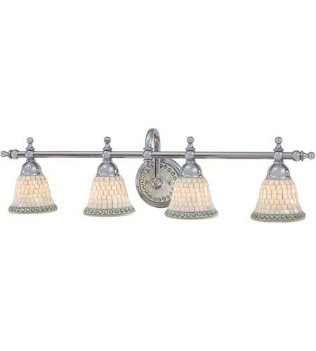 MinkaLavery Piastrella Light Inch Chrome Bath Bar Wall - Minka bathroom light fixtures