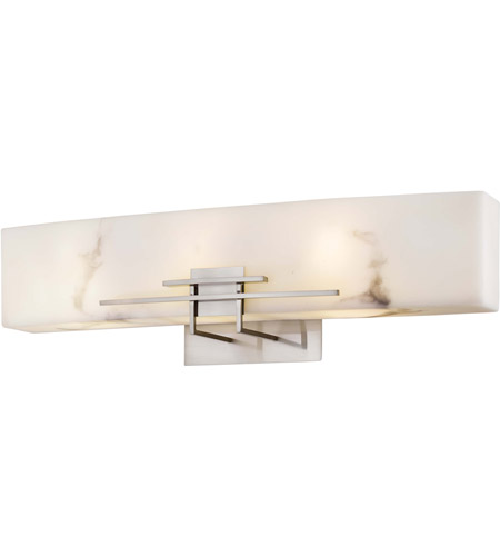 Minka-Lavery 6163-84-PL Signature 3 Light 24 inch Brushed Nickel Bath Wall Light photo