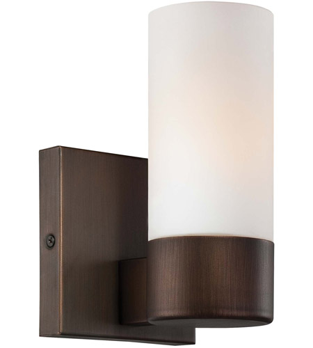 Minka-Lavery 6211-647 Signature 1 Light 5 inch Copper Bronze Patina Bath Sconce Wall Light photo