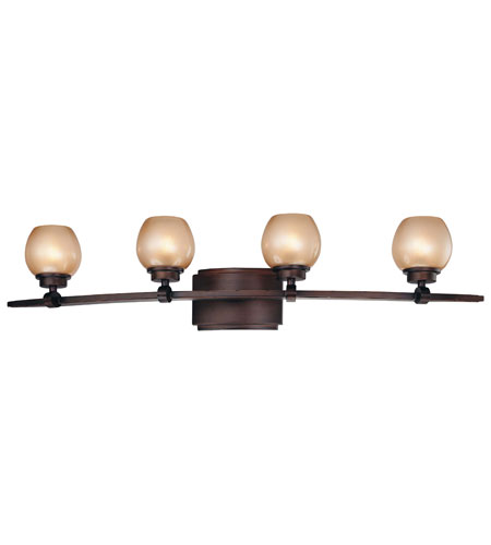 Minka-Lavery Cimarron 4 Light Bath in Dark Brushed Bronze 6244-267B photo